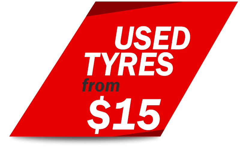 Used Tyres from $15