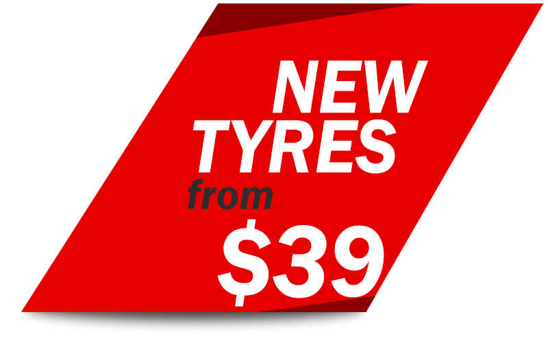 New Tyres from $39